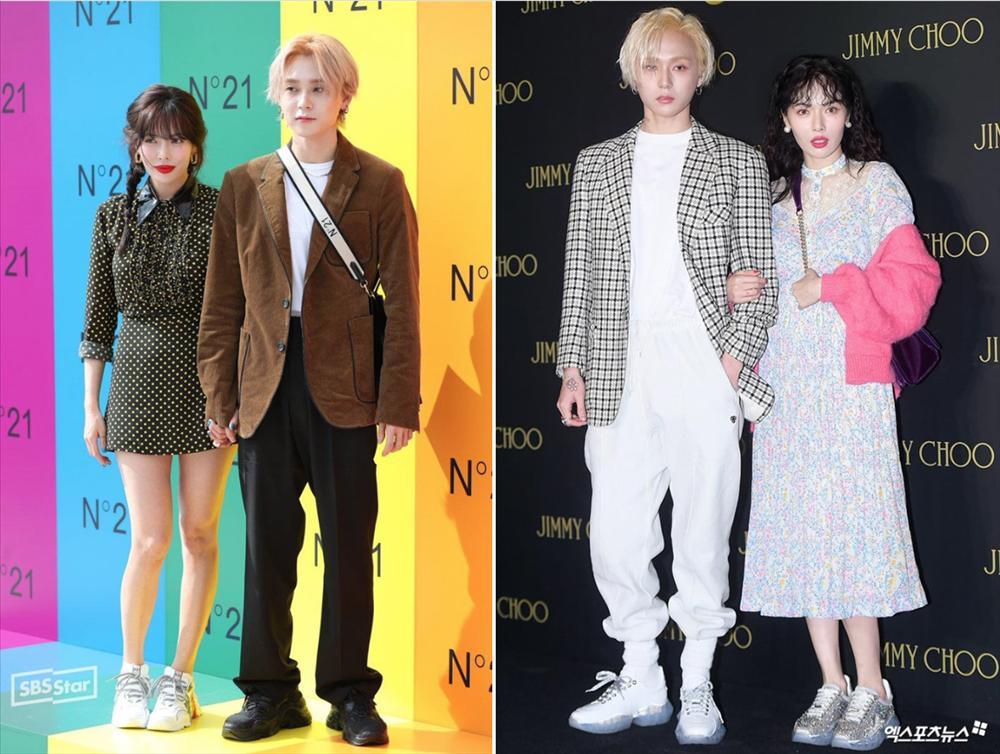 HyunA và người yêu chăm diện đồ đôi, có gu thời trang độc lạ-5