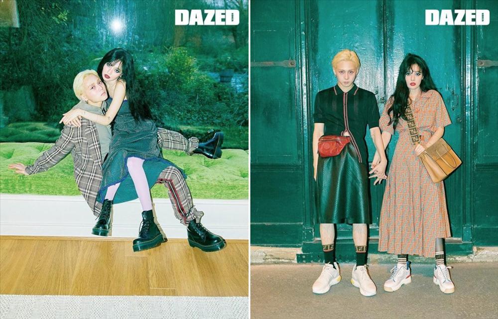 HyunA và người yêu chăm diện đồ đôi, có gu thời trang độc lạ-7
