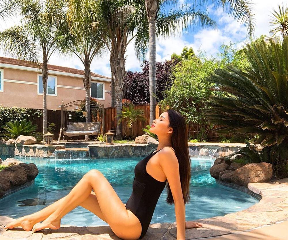 Chăm diện bikini từ khi sang Mỹ nhưng Phạm Hương liên tục bị soi ra khuyết điểm và dấu hiệu bất thường-8