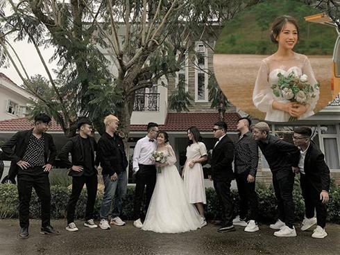 Con gái 20 tuổi của thiếu gia Minh Nhựa khoe ảnh cưới có 1 - 0 - 2 khiến ai nhìn vào cũng gật gù cả album chắc chất lắm