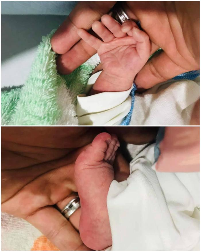 Lộ ảnh cận mặt cặp quý tử song sinh của Trương Nam Thành và nữ đại gia Hà Nội-1