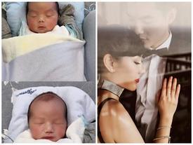 Lộ ảnh cận mặt cặp quý tử song sinh của Trương Nam Thành và nữ đại gia Hà Nội