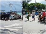 2 tài xế đuổi chém nhau kinh hoàng vì tranh giành khách ở Sài Gòn