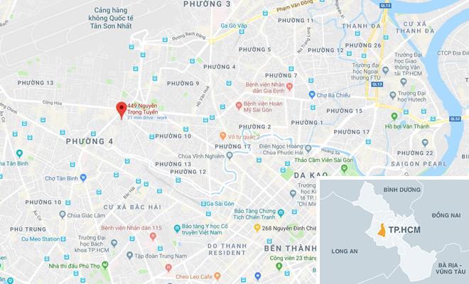 Điều tra vụ đứt dây điện làm chết người đang uống cà phê ở Sài Gòn-2