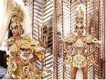 Lộ diện 1 trong 3 trang phục dân tộc của Hoàng Thùy tại Miss Universe: Sẽ sexy đến tột cùng?-5