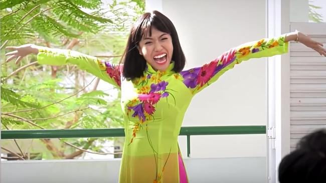 Những lần Diệu Nhi tự dìm hàng mình trên màn ảnh với phong cách thời trang quê mùa, sến sẩm-4