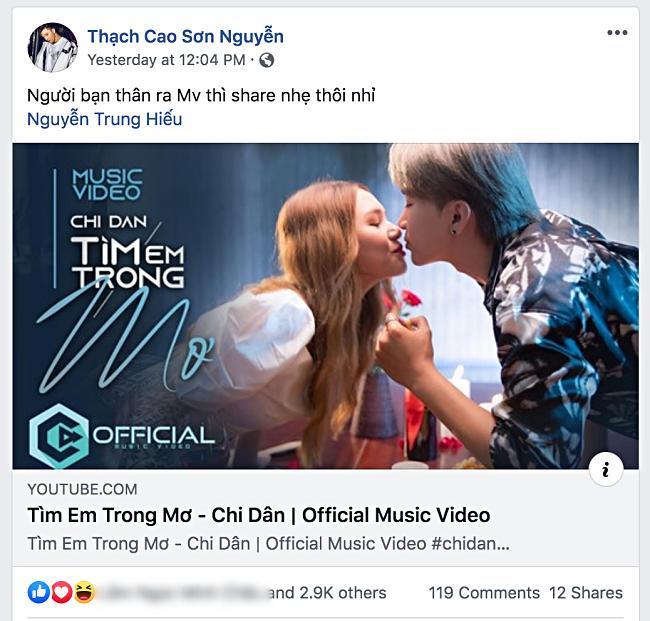 Lan Ngọc kêu gọi ủng hộ MV mới của Chi Dân, nhưng fan đồng loạt réo tên S.T Sơn Thạch-8
