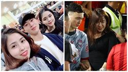 Bạn gái Lâm Tây và loạt WAGs Việt thân thiết với gia đình người yêu