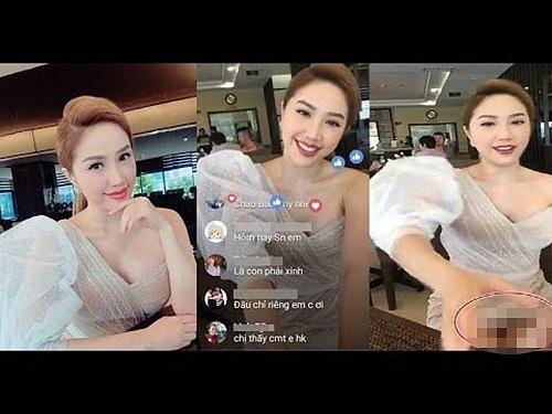 1001 sự cố livestream của sao Việt: Người lộ hàng trần trụi, kẻ bị soi khoảnh khắc bạo hành con riêng-8