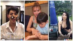 1001 sự cố livestream của sao Việt: Người 'lộ hàng' trần trụi, kẻ bị soi khoảnh khắc bạo hành con riêng
