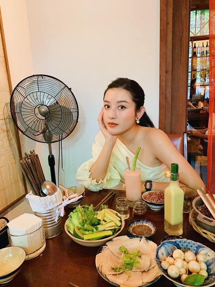 Hoa hậu Phạm Hương nhận định sống an yên tự khắc sẽ xinh đẹp-3