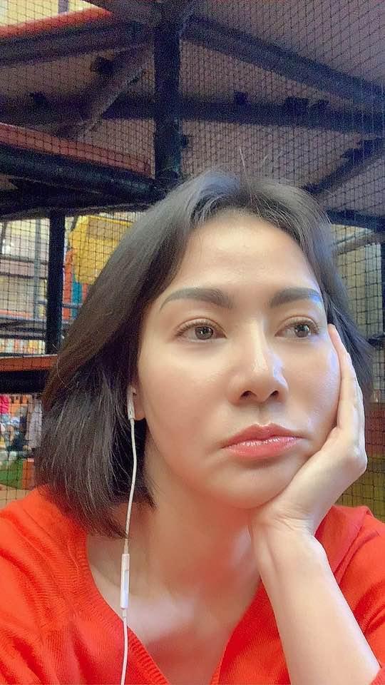 Hoa hậu Phạm Hương nhận định sống an yên tự khắc sẽ xinh đẹp-8