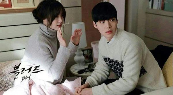 Loạt khoảnh khắc phim giả tình thật của Goo Hye Sun - Ahn Jae Hyun-4