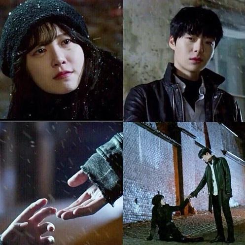 Loạt khoảnh khắc phim giả tình thật của Goo Hye Sun - Ahn Jae Hyun-8