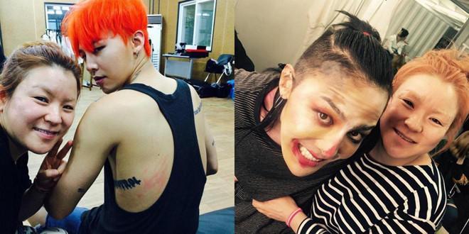 Stylist tung loạt ảnh cạo tóc, trang điểm kì quái của G-Dragon-3