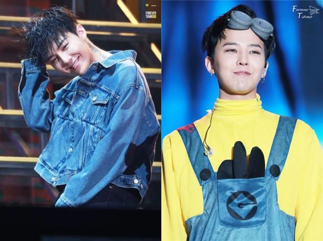 Stylist tung loạt ảnh cạo tóc, trang điểm kì quái của G-Dragon-7