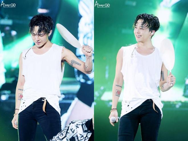 Stylist tung loạt ảnh cạo tóc, trang điểm kì quái của G-Dragon-8