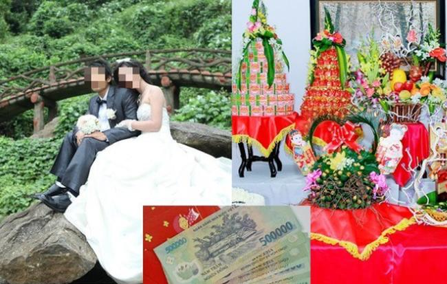 Cay đắng đúng ngày cưới phát hiện chồng làm cô khác có bầu 5 tháng, cô gái quyết định hủy đám cưới, trả lại 13 tráp và phong bì 10 triệu-2