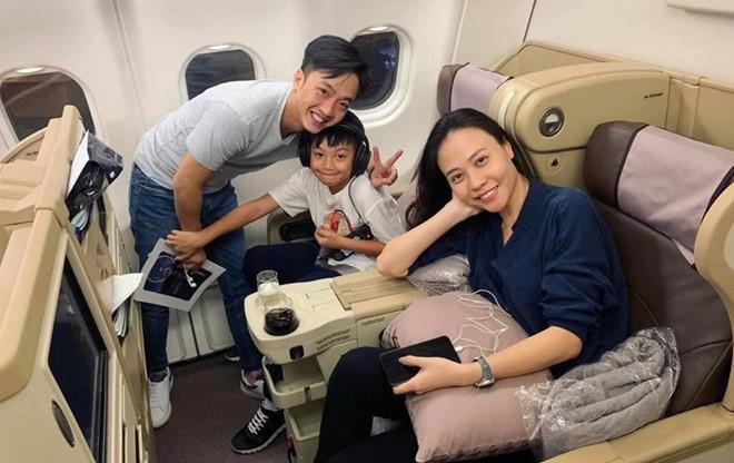 Cường Đô La, Đàm Thu Trang đưa Subeo đi du lịch sau đám cưới-1