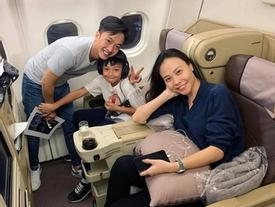 Cường Đô La, Đàm Thu Trang đưa Subeo đi du lịch sau đám cưới
