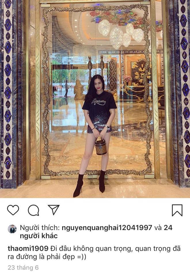 Bạn gái tin đồn lần đầu lên tiếng về mối quan hệ với Quang Hải, fans bày tỏ bất ngờ về câu trả lời này-1