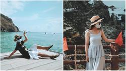 Bí kíp du lịch hè mà sợ cháy nắng: Cứ tự tin bịt khẩu trang kín mít như ninja mà check-in không trượt ảnh nào!