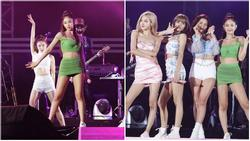 Jennie lại mặc lấn át các thành viên còn lại của BlackPink nhưng lộ hàng liên tục vì lỗi của stylist?