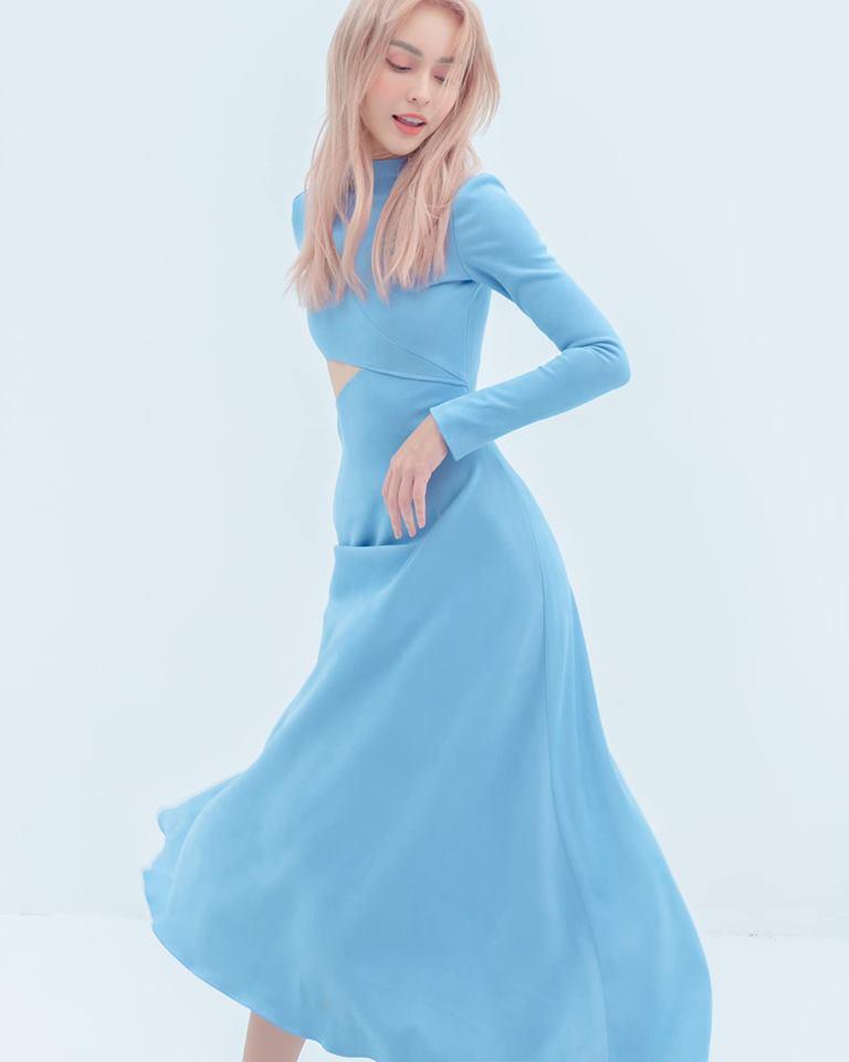 Mlee chặt đẹp Min khi mặc chung chiếc váy từng vướng nghi án đạo nhái-1