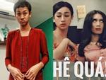 Chả phải lần đầu tiên giả gái nhưng BB Trần khiến cả showbiz Việt vào tranh cãi về bộ ngực khủng và mái tóc-7