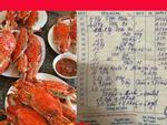 Ăn một bữa ăn hải sản tận 85 triệu đồng, thực khách than quá đắt còn chủ cửa hàng kêu vẫn tính thiếu 4 triệu