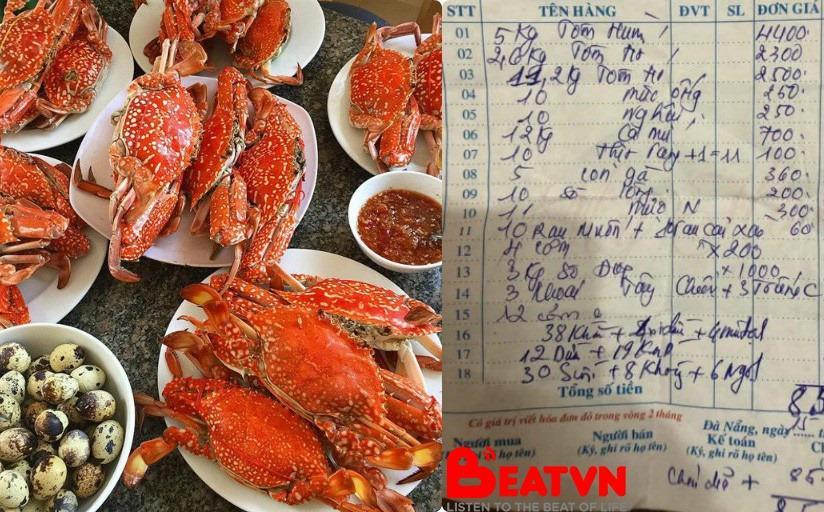 Ăn một bữa ăn hải sản tận 85 triệu đồng, thực khách than quá đắt còn chủ cửa hàng kêu vẫn tính thiếu 4 triệu-2