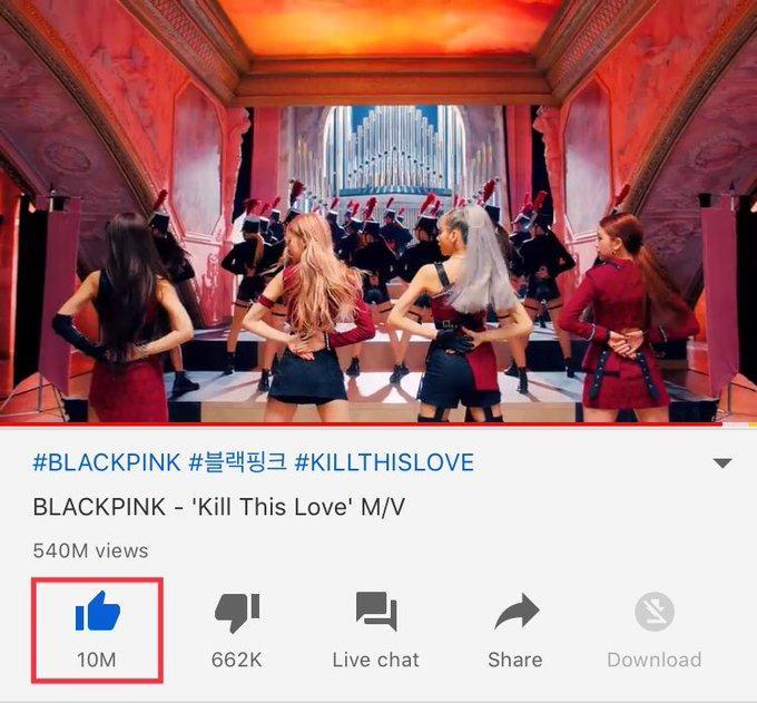 Fan BlackPink lại được dịp phổng mũi khi Hắc Hường trở thành nữ nghệ sĩ đầu tiên trong lịch sử có 2 MV đạt 10 triệu like-1