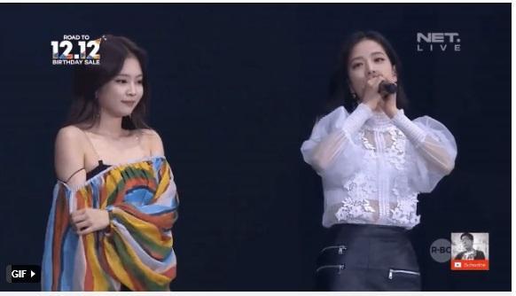 Những lần Jennie (BlackPink) lộ hàng trên sân khấu-6