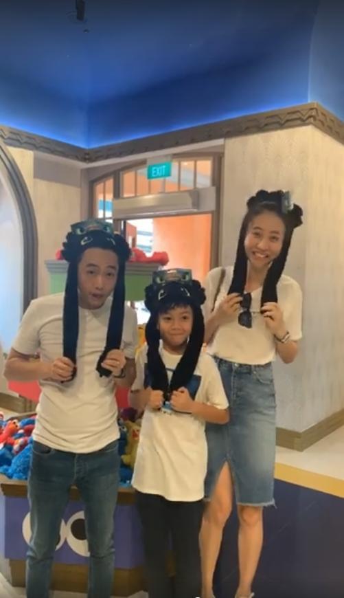 ẢNH HOT NHẤT NGÀY: Cường Đô La - Đàm Thu Trang - Subeo cùng nhau vẽ ảnh gia đình hạnh phúc-3