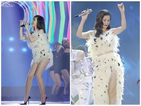 Lấy chồng giàu như Ông Cao Thắng, Đông Nhi vẫn tái sử dụng váy áo bằng cách 'cắt dưới đắp trên' cực kỳ tiết kiệm