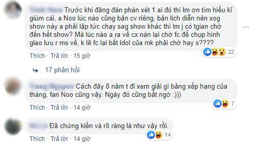 Fandom Việt đại chiến: Fan Mỹ Tâm bức xúc tố FC Noo Phước Thịnh đồng loạt bỏ về khi đến lượt chị đẹp biểu diễn-4
