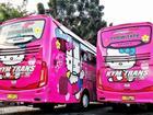 Thực hư việc xuất hiện xe đi Đà Lạt phiên bản 'HELLO KITTY' toàn màu hồng làm tín đồ du lịch 'đứng ngồi không yên'