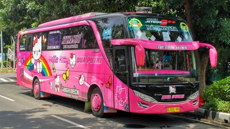 Thực hư việc xuất hiện xe đi Đà Lạt phiên bản HELLO KITTY toàn màu hồng làm tín đồ du lịch đứng ngồi không yên-7