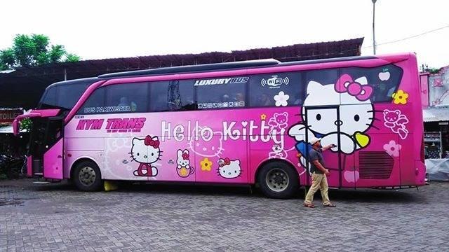 Thực hư việc xuất hiện xe đi Đà Lạt phiên bản HELLO KITTY toàn màu hồng làm tín đồ du lịch đứng ngồi không yên-9