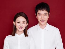 Mặc thiên hạ tung tin đồn ly hôn, Triệu Lệ Dĩnh và Phùng Thiệu Phong làm đám cưới sau 1 năm đăng ký kết hôn?