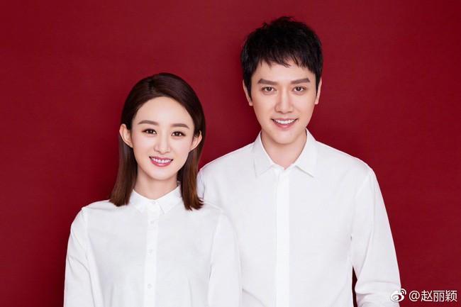 Mặc thiên hạ tung tin đồn ly hôn, Triệu Lệ Dĩnh và Phùng Thiệu Phong làm đám cưới sau 1 năm đăng ký kết hôn?-1