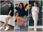Linh Ka khoe street style như không mặc quần - Nhật Lê lăng-xê quần shorts 5 phân