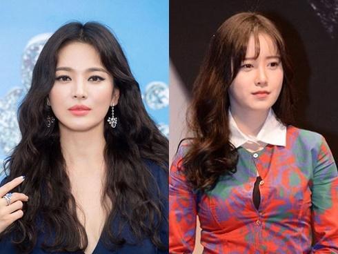 Hậu ly hôn, Song Hye Kyo đẹp lên trông thấy còn Goo Hye Sun thì ngày càng phát tướng, luộm thuộm