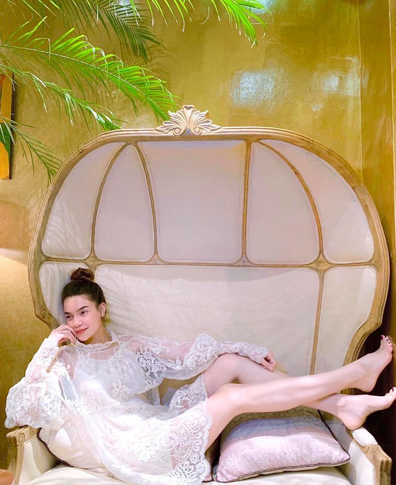 Hoa hậu Kỳ Duyên tiết lộ thú vui giải tỏa stress mỗi khi đêm về-2