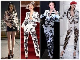 'Mặc lại' thiết kế Moschino, IU 'chặt đẹp' dàn mỹ nhân châu Á từ Tóc Tiên, Lâm Tâm Như nhờ chiêu mix đồ chẳng giống ai