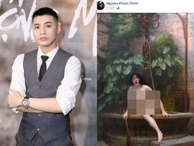 Noo Phước Thịnh đăng hình 'trần trụi', ẩn ý ngầm bảo vệ người hâm mộ sau lùm xùm 'cà khịa' FC Mỹ Tâm?