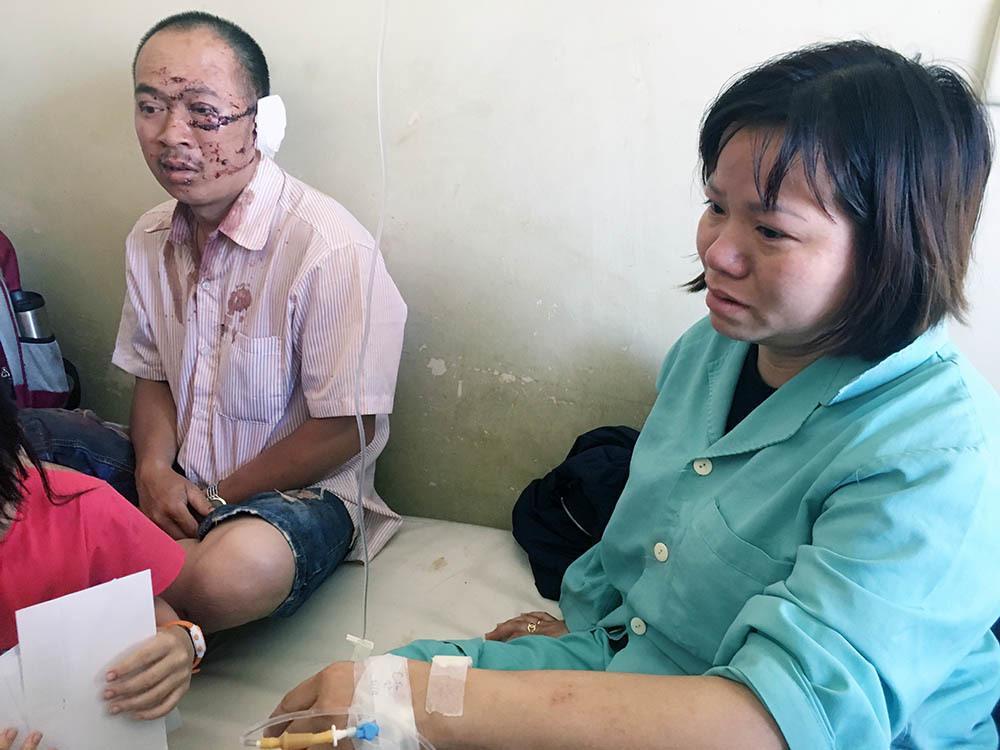 Giây phút cụ ông 91 tuổi văng khỏi xe thiệt mạng ở Khánh Hòa-1