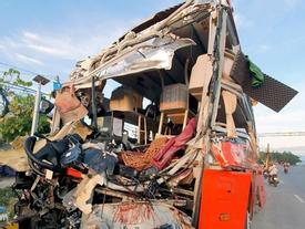 Xe khách Phương Trang tăng tốc 63 km/h khi xảy ra tai nạn