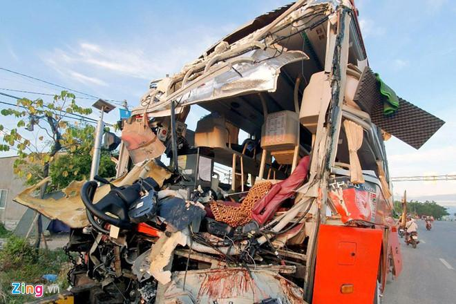 Xe khách Phương Trang tăng tốc 63 km/h khi xảy ra tai nạn-1
