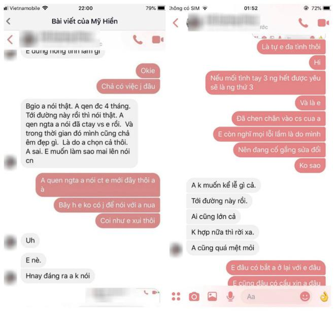 Dành 6 năm tuổi trẻ để yêu và chờ đợi cũng không bằng mối tình vụng trộm 4 tháng, cô gái tung bằng chứng bạn trai ngoại tình lên mạng-4